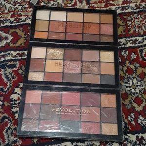 Makeup Revolution eyeshadow bundle 3